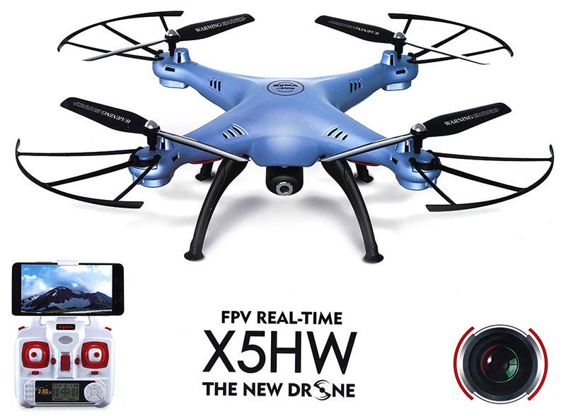Dron SYMA X5HW Quadrocopter RC z Kamerą FPV Wi-Fi 2,4 GHz - VivoSklep.pl 11