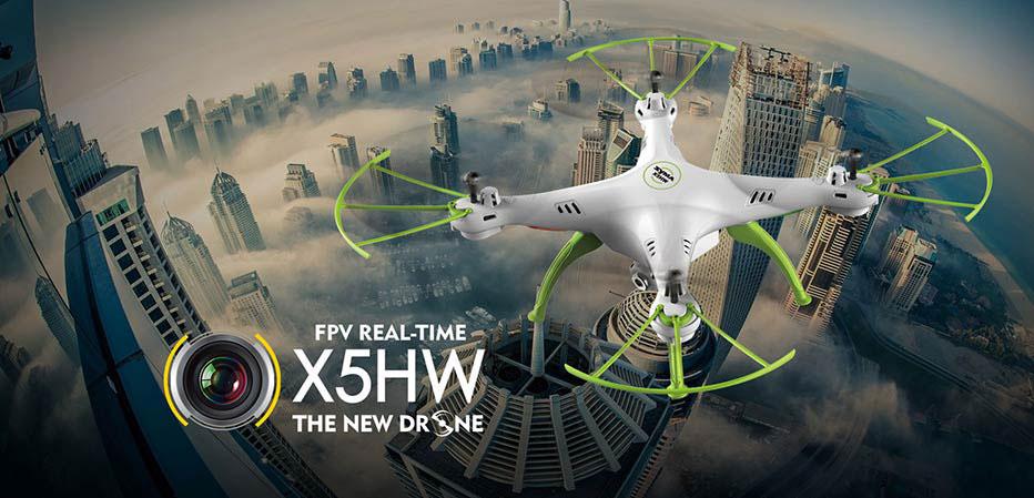 Dron SYMA X5HW Quadrocopter RC z Kamerą FPV Wi-Fi 2,4 GHz - VivoSklep.pl 1