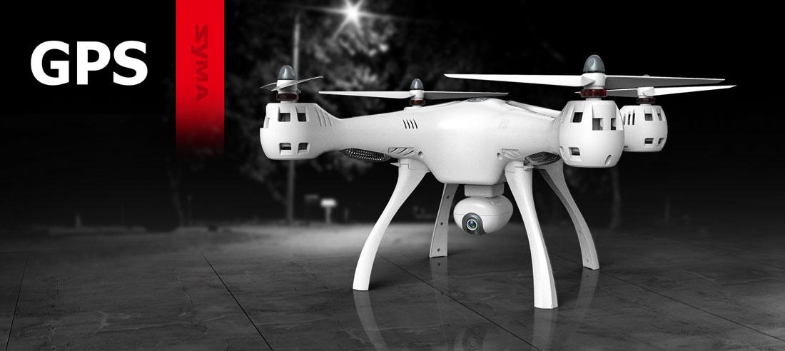 Dron SYMA X8 Pro Quadrocopter RC z Kamerą GPS Barometr Żyroskop - VivoSklep.pl 1