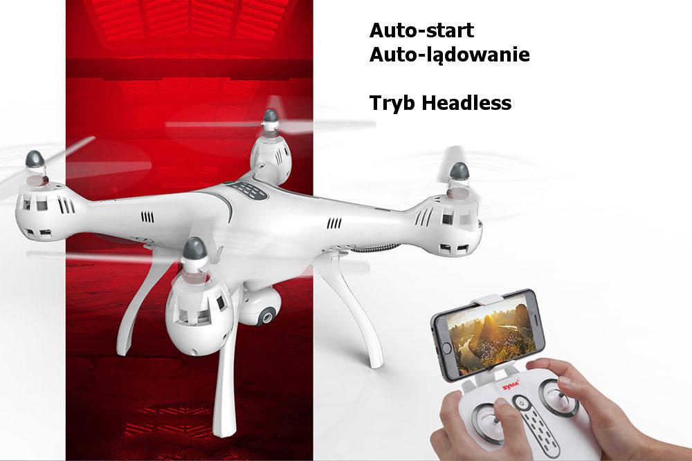 Dron SYMA X8 Pro Quadrocopter RC z Kamerą GPS Barometr Żyroskop - VivoSklep.pl 2