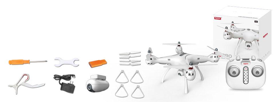 Dron SYMA X8 Pro Quadrocopter RC z Kamerą GPS Barometr Żyroskop - VivoSklep.pl 10