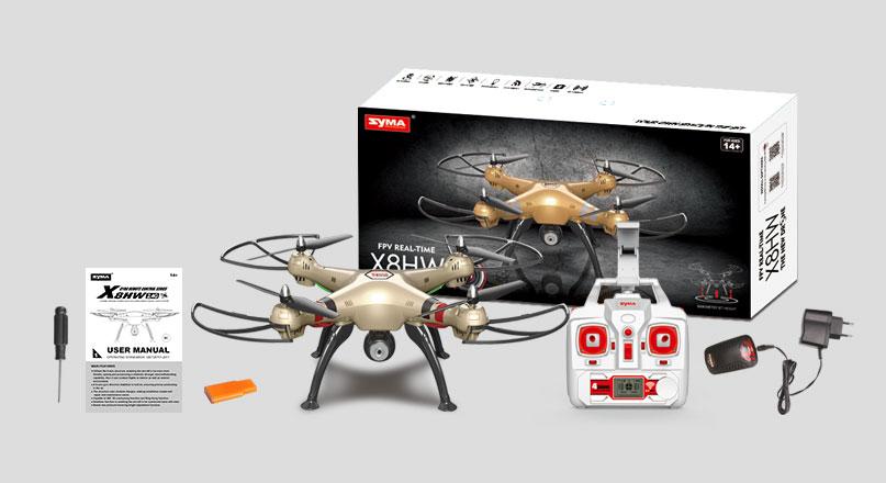 Dron SYMA X8HW Duży Quadrocopter RC z Kamerą i Barometrem - VivoSklep.pl 8