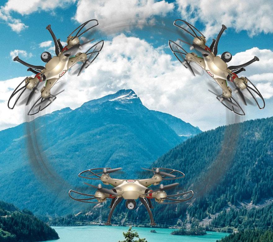 Dron SYMA X8HW Duży Quadrocopter RC z Kamerą i Barometrem - VivoSklep.pl 11