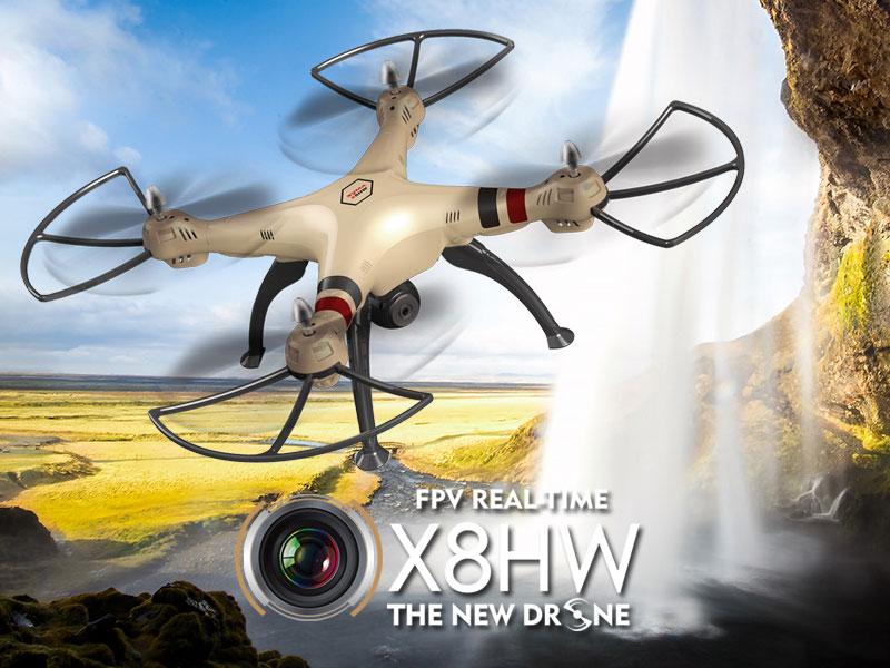 Dron SYMA X8HW Duży Quadrocopter RC z Kamerą i Barometrem - VivoSklep.pl 1
