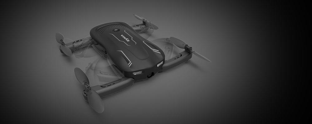 Dron SYMA Z1 Składany Quadrocopter RC z Kamerą i Stabilizatorem - VivoSklep.pl 4