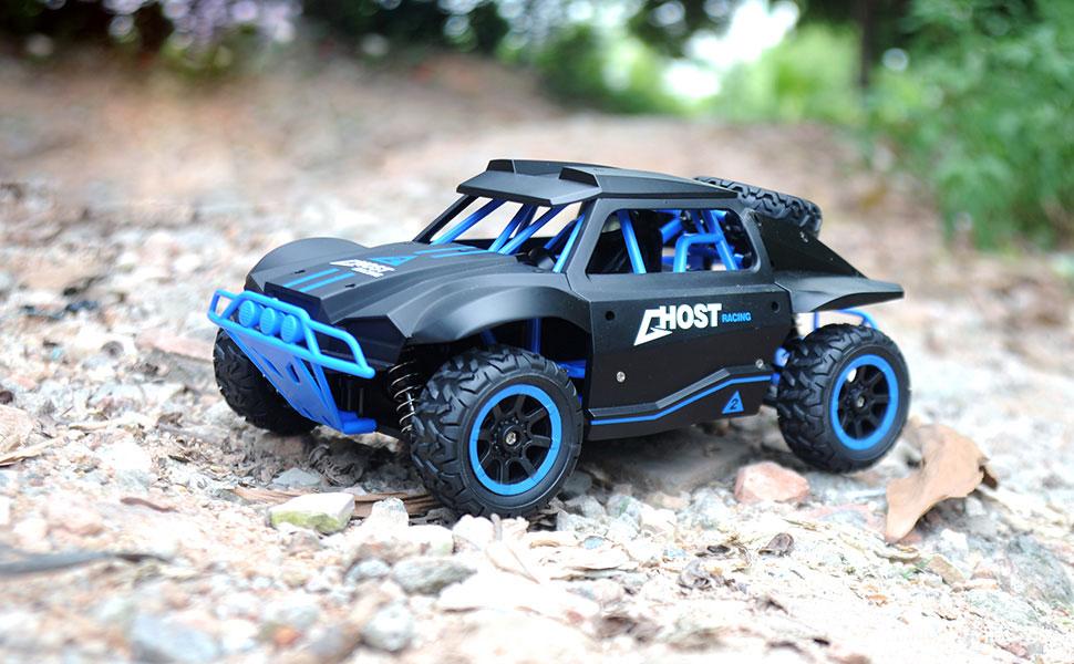 Samochód RC RACING RALLY HB Toys DK1802 Zdalnie Sterowany Czarny - VivoSklep.pl 6
