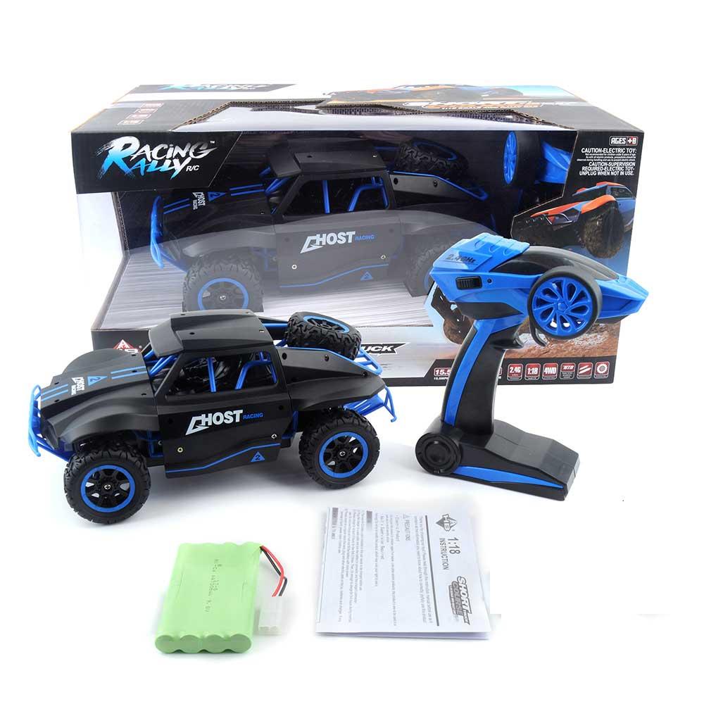 Samochód RC RACING RALLY HB Toys DK1802 Zdalnie Sterowany Czarny - VivoSklep.pl 16