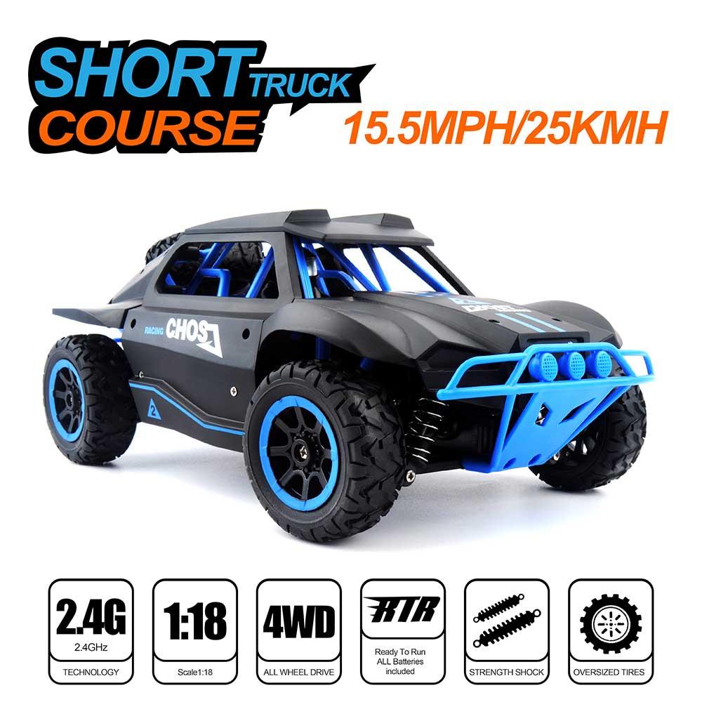Samochód RC RACING RALLY HB Toys DK1802 Zdalnie Sterowany Czarny - VivoSklep.pl 15