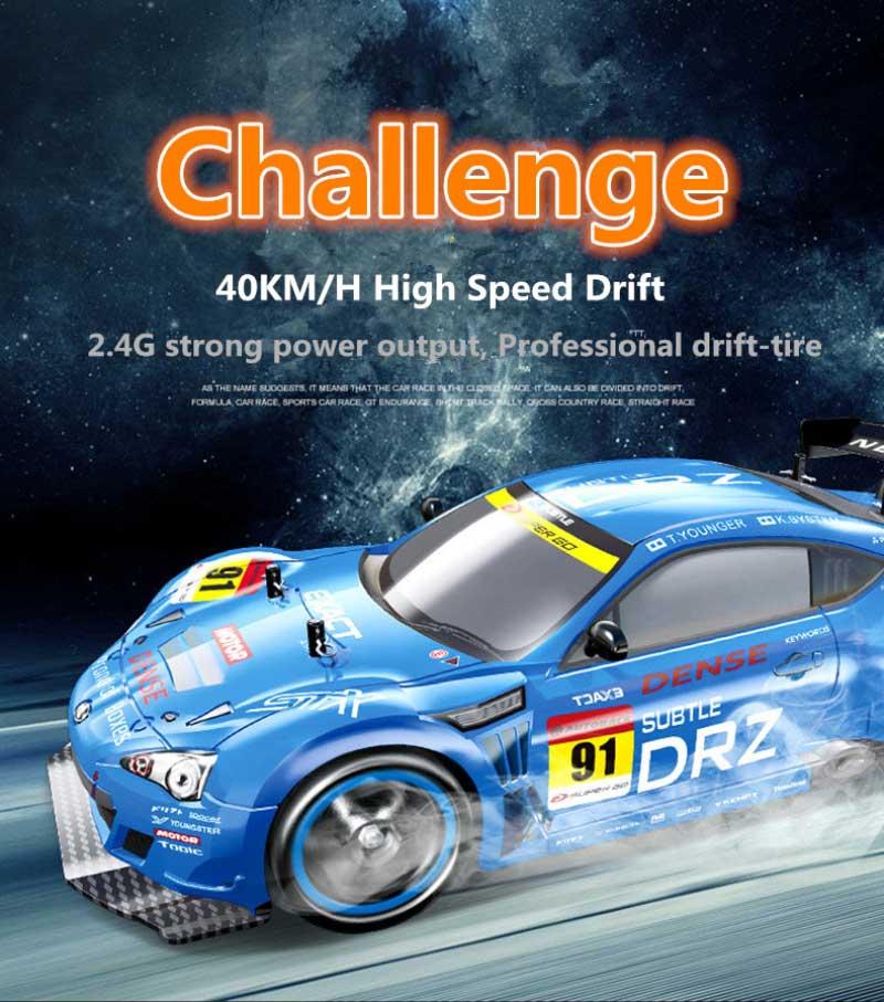 Poczuj moc adrenaliny, polecamy Samochód RC Subaru NQD DRIFT FURIOUS 8 BRZ 757-4WD14 Zdalnie Sterowany. Efektowna jazda na poślizgu, VivoSklep.pl 6