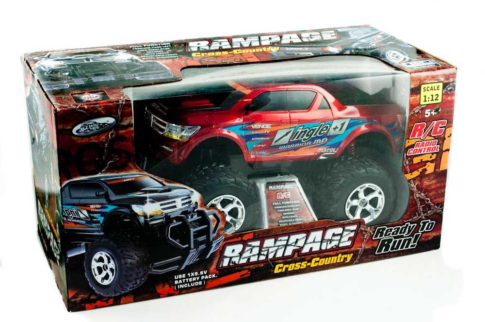 Samochód RC WINYEA RAMPAGE W3818 Zdalnie Sterowany Duży Czerwony - VivoSklep.pl 8