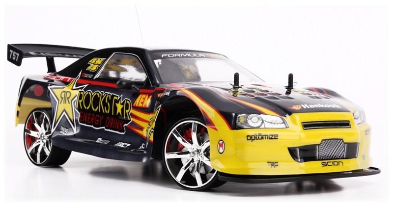 Samochód RC NISSAN SKYLINE GT-R Rockstar Zdalnie Sterowany do Driftu - VivoSklep.pl 1