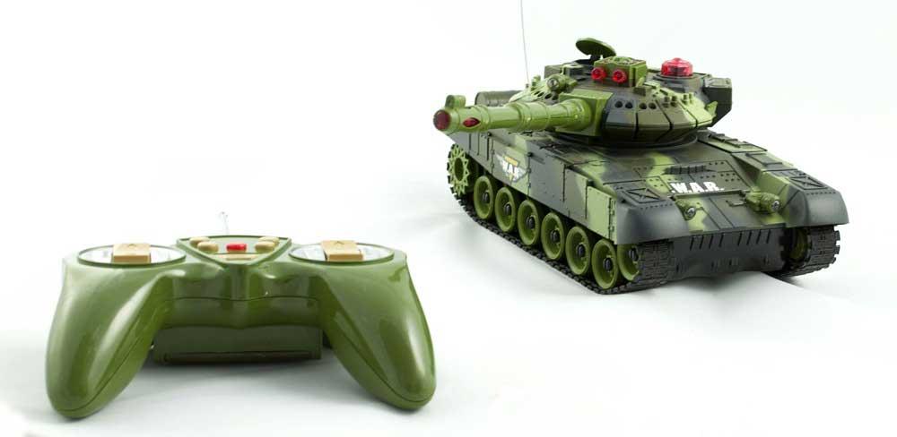 Zestaw 2 Czołgi RC 9993 T90 War Tank Strzelające na Podczerwień - VivoSklep.pl 6