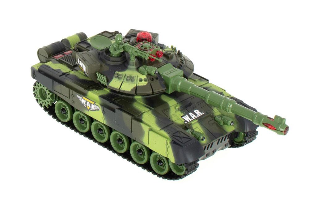 Zestaw 2 Czołgi RC 9993 T90 War Tank Strzelające na Podczerwień - VivoSklep.pl 2